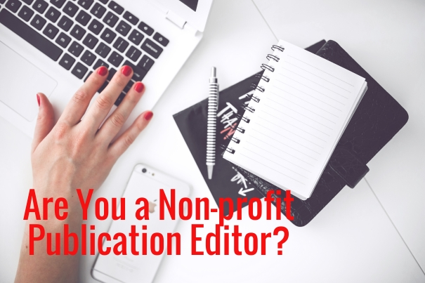 Are you a non-profit publication editor?