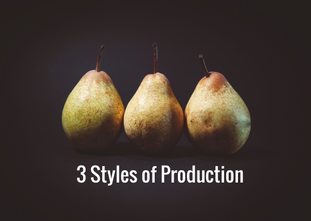 3 Styles of Production