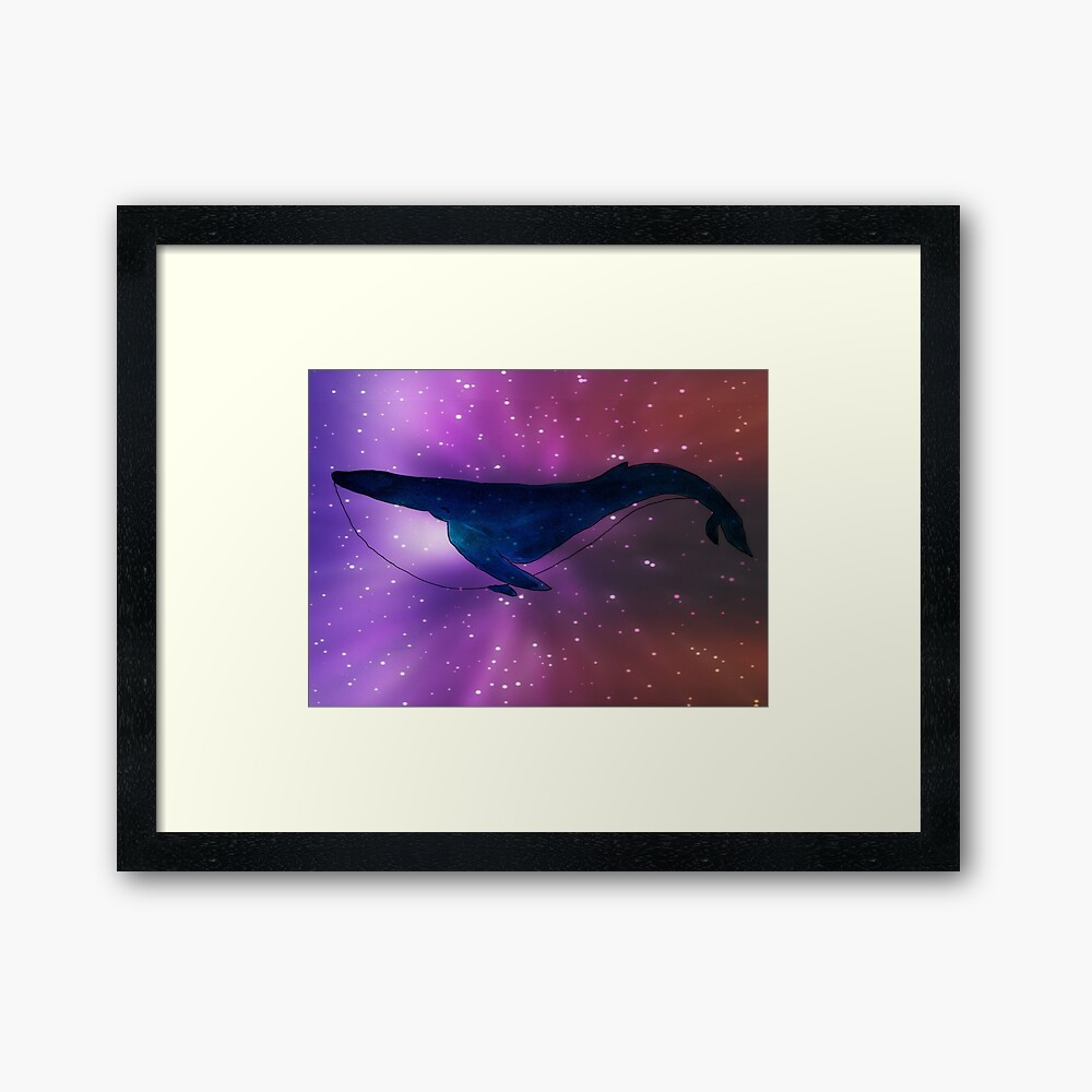 Space whale by Susan Wilander