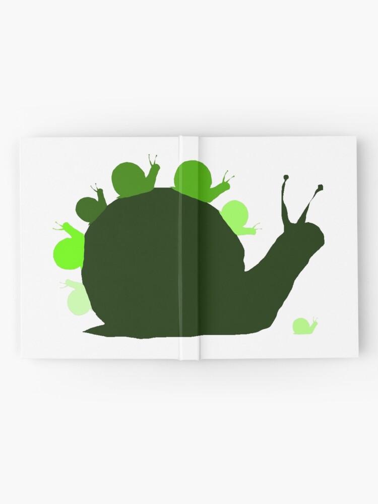 snails hardcover journal