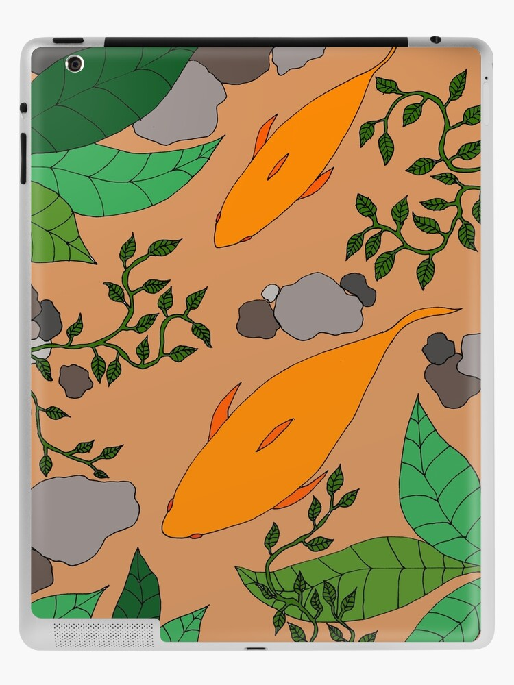 Koi carp ipad skin by Susan Wilander at Redbubble