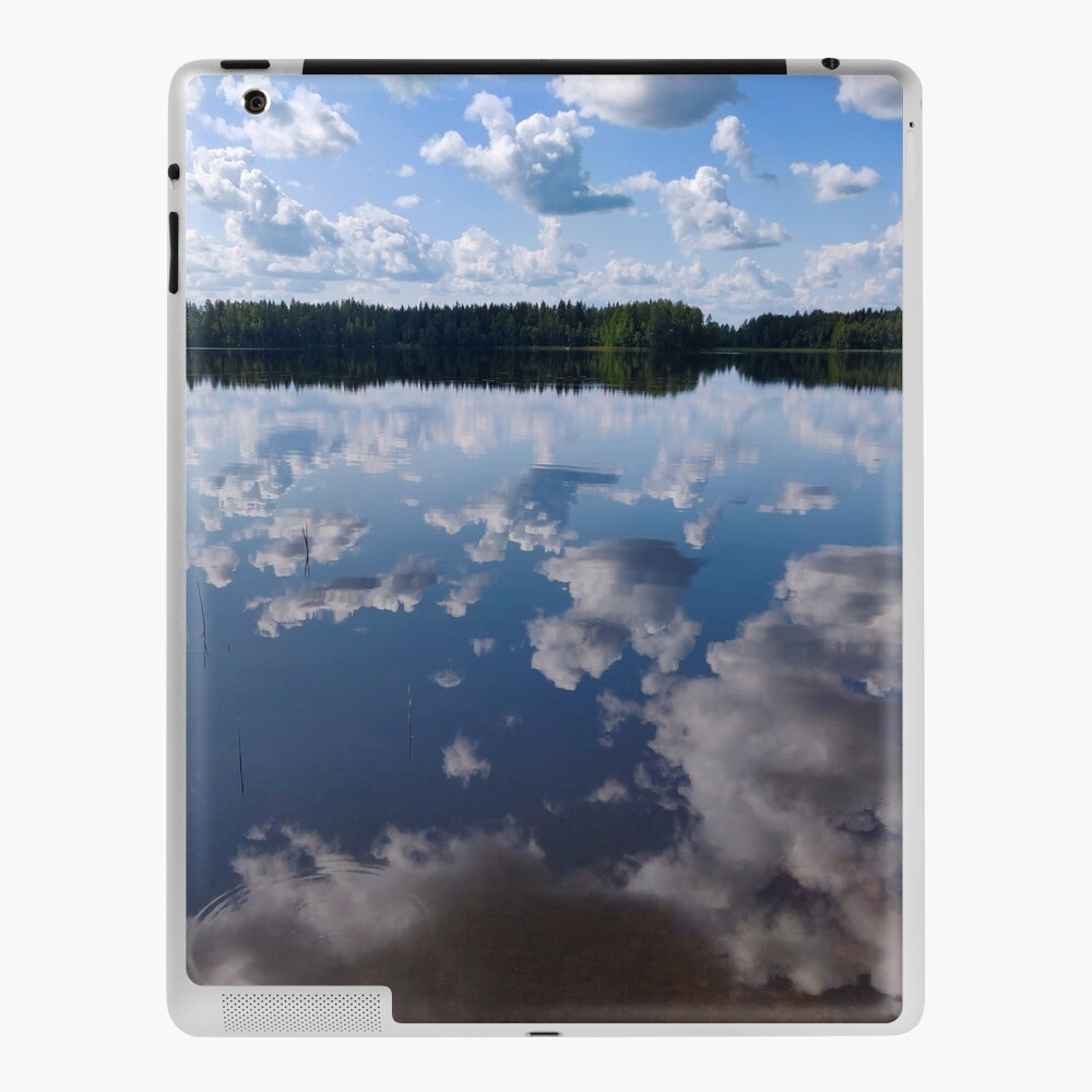 Living in the clouds ipad skin by Susan Wilander