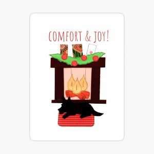 Christmas comfort by Susan Wilander